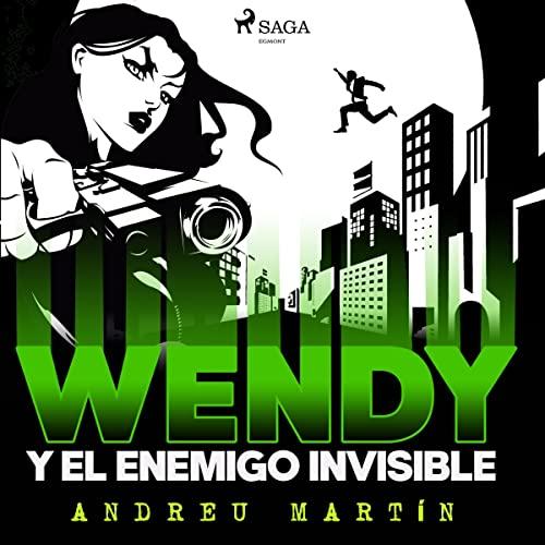 Diseño de la portada del título Wendy y el enemigo invisible