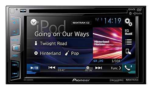 Pioneer AVHX3800BHS 2-DIN Receiver with 6.2' Display/Built-in Bluetooth/Siri...