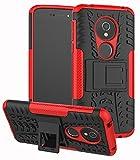 Yiakeng Coque Moto G6 Play - Double couche - Antichoc - Fine - Protection intégrale - Avec...