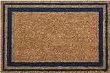 ID Mat Tapis Paillasson, Fibres Coco Naturelles sur Semelle PVC, Beige, 40 x 60 x 1,5 cm
