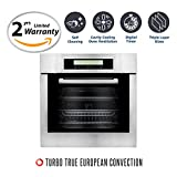 Cosmo C106SIX-PT 24 in. 2 cu. ft. Single Electric Wall Oven with 10...