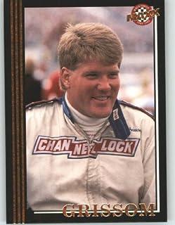 1992 Maxx Black Racing Card # 58 Steve Grissom - NASCAR Trading Cards