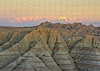 Media Storehouse 252 Piece Puzzle of Panorama Point in Badlands National Park, South Dakota, USA (18244617)