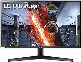 "LG 27GN800 UltraGear Gaming Monitor 27"" QuadHD IPS 1ms HDR 10, 2560x1440, G-Sync Compatible e AMD FreeSync Premium..."