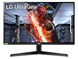 LG 27GN800 UltraGear Gaming Monitor 27' QuadHD IPS 1ms HDR 10, 2560x1440, G-Sync Compatible e AMD FreeSync Premium 144Hz, HDMI 2.0 (HDCP 2.2), Display Port 1.4, Porta AUX, Flicker Safe, Nero