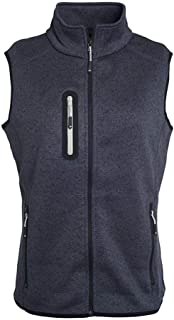 James And Nicholson Womens/Ladies Knitted Fleece Vest