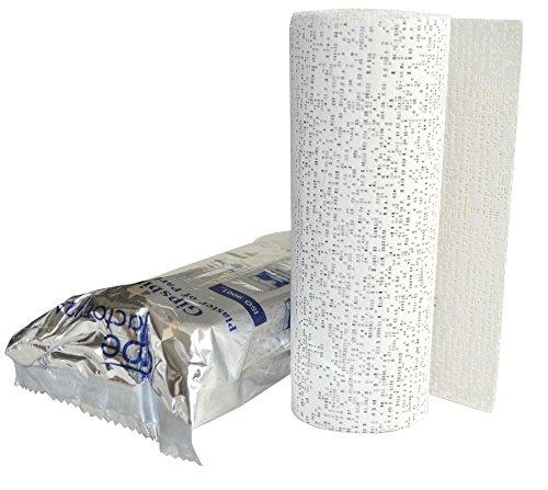 10x Gipsbinden a 15 cm x 300 cm (=30 Meter/ 4,5m²) von Tapefactory24 - Gipsbinde für Babybauch, Gipsmasken, Modelliergewebe für Modellbau NEU
