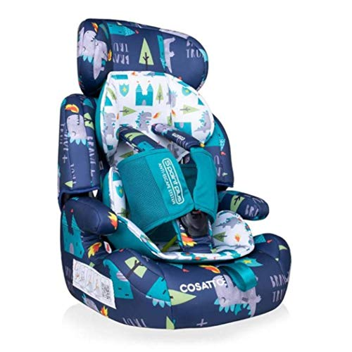 Cosatto Zoomi Car Seat | Group 1 2 3, 9-36 kg, 9 Months-12 years, Side Impact Protection, Forward Facing (Dragon Kingdom)