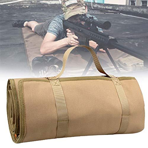 WXking Tactical Shooting Mat Roll Up, Schießmatte Schießauflage Jagdmatten Lightweight für Outdoor-Sportarten, Bodenschutzmatte Aufrollbare w (Color : A)