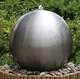 Fuente Esfera de Acero Inoxidable...