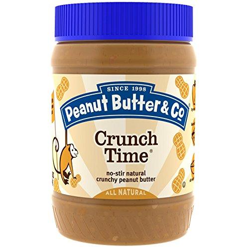 Peanut Butter & Co., Crunch Time, Crunchy Peanut Butter (Pack of 2)