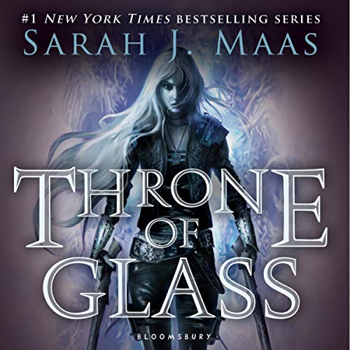 Throne of Glass Audiobook By Sarah J. Maas cover art