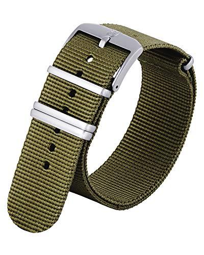 Genuine Luminox Replacement Band/Webbing Strap Series 3500, 3600, 9240-24 mm Green