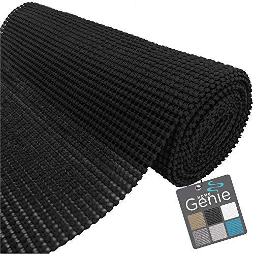 Home Genie - Forro original para cajones y estantes, rollo no adhesivo, 17.5 pulgadas x 20 pies, duradero y fuerte, forro de agarre...