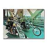 VVSUN Easy Rider Movie Art Leinwand Poster Home Dekorative
