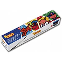 Jovi- 724898 Pack de 5 Botes de témpera Escolar, 35 ml, Multicolor (505)