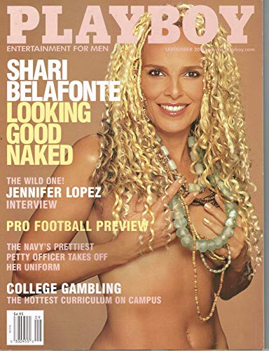 PLAYBOY MAGAZINE Shari Belafonte Vintage Celebrity Issue September 2000