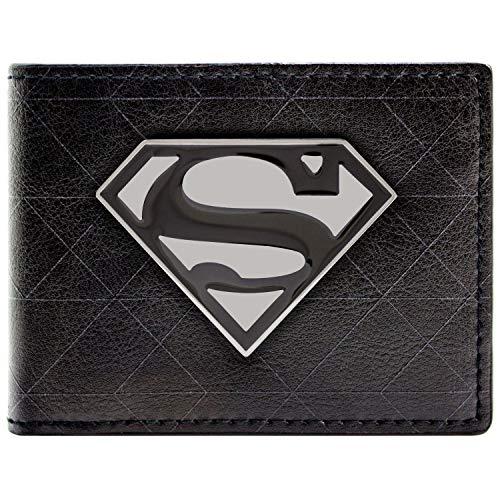 DC Comics Superman Symbol Badge Black ID & Card Bi-Fold for sale  Delivered anywhere in UK