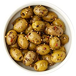 Whole Foods Market Athos Olives with Sicilian Herb, 150g