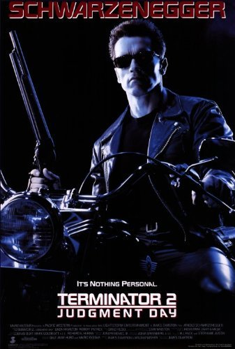 Incline Wholesale Posters Terminator 2: Judgment Day - Reproduction Movie Poster - Style A - 27' x 40'