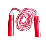 Simran Sports Red Cotton Rope Skipping Rope Pack of 1 (A29) (RedCotton)