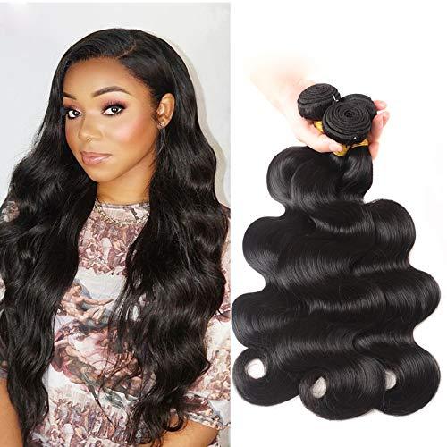 Brazilian Bundles Virgin Human Hair Bundles 300g Unprocessed Body Wave Weaves Extension Natural Black Remy Hair Sew in Weft 3 Bundles 20 22 24 inches