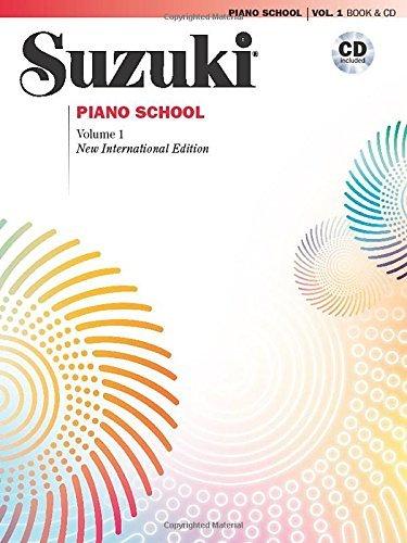 Suzuki Piano School Volume 1 (with CD): New International Editions (Suzuki Method Core Materials) by Perf. Seizo Azuma (2008) Sheet music
