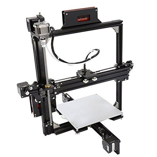 3D-printer met verwarmd bed van touchscreen 3D-printerkit voor privégebruik afmetingen 220 x 220 x 220 mm.