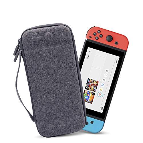 KEISTUO Funda para Nintendo Switch, Estuche de Viaje con 12 Rarunas para...