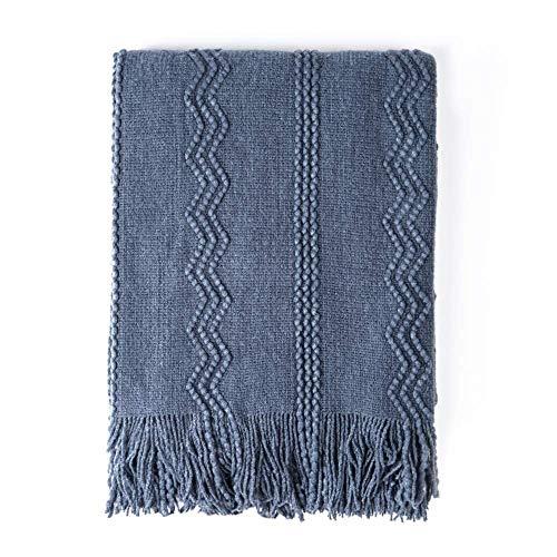 Top 10 tassel blanket throw blue for 2020