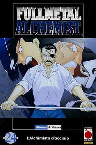 Fullmetal Alchemist N° 24 - Ristampa - Planet Manga - Panini Comics - ITALIANO