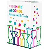 PREGMATE 20 Alcohol Breast Milk Tests Breastmilk Strips (20 Count)