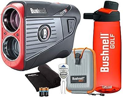 Bushnell Tour V5 Golf Laser Rangefinder Bundles   Pinseeker Jolt, 6X Mag, BITE   201901P