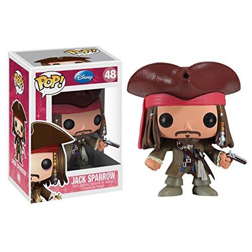 Piratas del Caribe - Figura Pop Movies Vinilo: Jack Sparrow