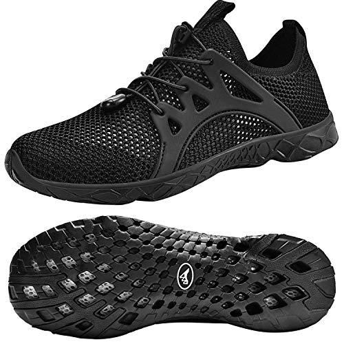 Feetmat Women's Quick Drying Aqua Water Shoes Casual Walking Shoes Pink 41