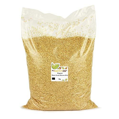 Organic Short Grain Brown Rice 5kg (Buy Whole Foods Online...