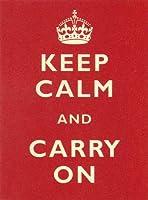簡素な雑貨屋 Keep Calm and Carry On メタルプレート アンティーク な ブリキ の 看板、レトロなヴィンテージ 金属ポスター 、40x30cm