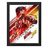 SnapeZo Poster Frame 30x40 Inches, Black 1.2 Inch Aluminum Profile, Front-Loading Snap Frame, Wall Mounting, Premium Series