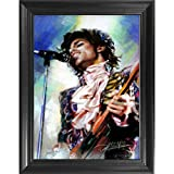 Prince 3D Poster Wall Art Decor Framed Print | 14.5x18.5 | Lenticular Posters &...