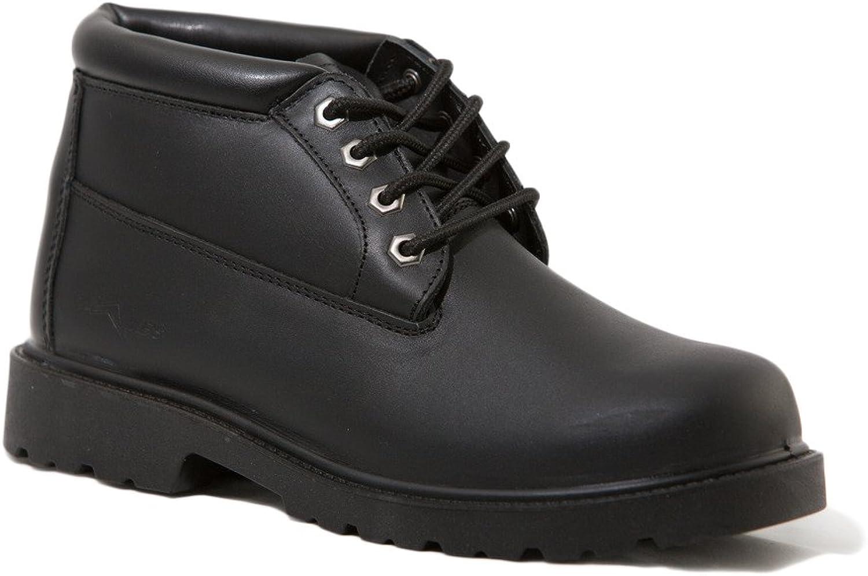 Mike's 5  Waterproof Padded Collar Chukka Boot Black