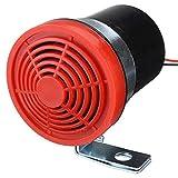 Matedepreso - Alarma de Marcha atrás para Coche, 12 – 24 V, 105 dB, Accesorios para Autos de Marcha atrás, Sirena de Advertencia, Advertencia Universal, Durable, bocina de bocina