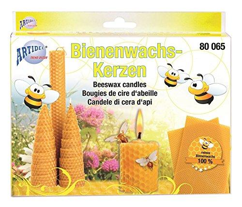 CREARTEC Bienenwachs - Kerzen