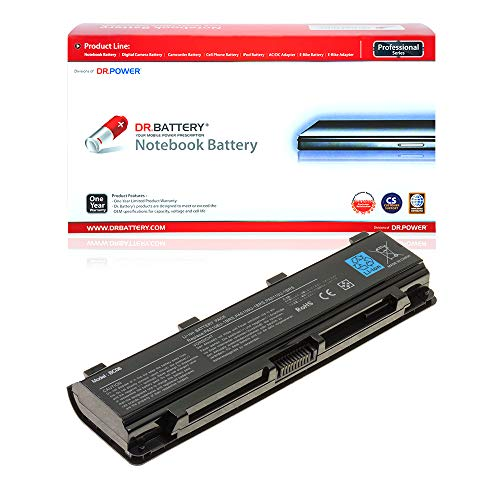 DR. BATTERY Laptop Battery Compatible with Toshiba PA5109U-1BRS Battery Satellite C40 C50 C70 PABAS271 PABAS272 PABAS273 PA5110U-1BRS PA5108U-1BRS[10.8V/4400mAh/48Wh]