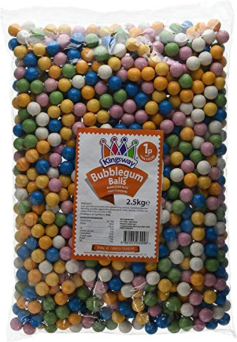 Kingsway Bubble-Gum Balls Bag, 2.5 kg …