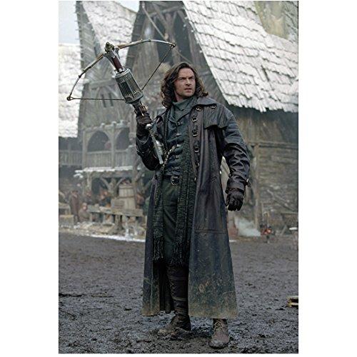 Van Helsing Hugh Jackman as Van Helsing holding crossbow 8 x 10 Inch photo