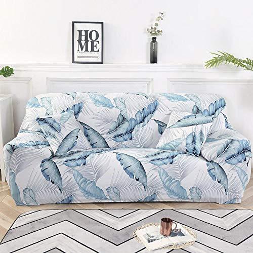 Allenger Colourfast Elastic Sofa Covers,Elastische rutschfeste Sofabezug, ganzjährige universelle Vollbezug-Sofakissenbezug, Möbel-Antifouling-Schutzhülle-Farbe 20_90-140cm