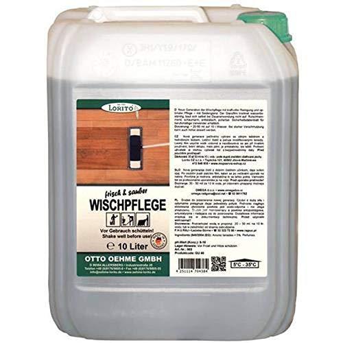 LORITO frisch & sauber Wischpflege, Unterhaltsreiniger Bodenpflege Bodenreiniger 10L