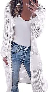 AgrinTol Women Knitting Cardigan, Long Sleeve Tops Autumn Contrast Jacket Shirts