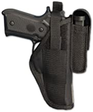 Barsony Gun OWB Belt Holster with Magazine Pouch for S&W 1911 4505 4506 Right