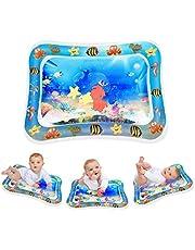 Keten Opblaasbare Waterspeelmat, Opblaasbaar Perfect Sensorisch Speelgoed voor 3 6 9 Maanden Kinderen en Baby's, BPA-vrij Leuk Activiteitencentrum voor de Stimulatie van Uw Baby